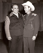 Cliffie and Roy Rogers